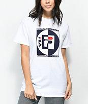 FILA Contrast camiseta blanca