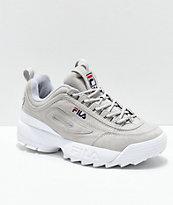 Zapatos De Ii Ante Disruptor Premium GrisZumiez Fila lJTc3FK1