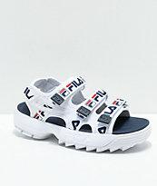 FILA Disruptor sandalias de plataforma con logotipos