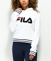 FILA Rosemary White, Blue & Red Hoodie