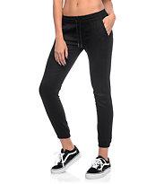 Fairplay Black Runner Jogger Pants