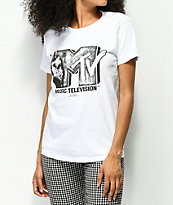 Fairplay x MTV Stop Hate camiseta blanca