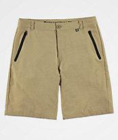 Free World Maverick shorts híbridos caqui oscuro