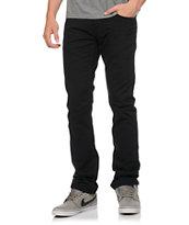 Free World Messenger 5 Pocket Twill Black Pants (Past Season)