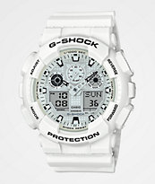 G-Shock GA100 Marine reloj blanco