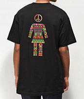 Girl Dashiki Black T-Shirt