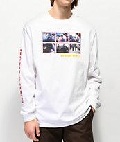 Girl x Beastie Boys Sabotage Photos camiseta blanca de manga larga