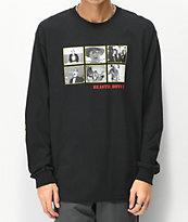 Girl x Beastie Boys Sure Shot Photos camiseta negra de manga larga