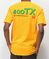 Girl x Kodak Gold 400 camiseta dorada