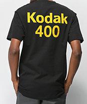 Girl x Kodak Gold 400 camiseta negra
