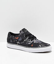 Globe Mahalo Typhoon zapatos de skate negros