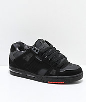 Globe Sabre Black, Night Grey & Red Skate Shoes