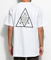 HUF Ambush Triple Triangle White T-Shirt