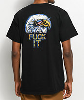 HUF Fuck It Eagle camiseta negra