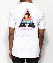 HUF Good Trips Triange camiseta blanca