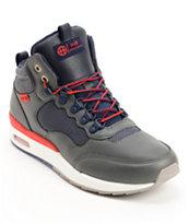 HUF HR-1 Runner Grey & Navy Shoes