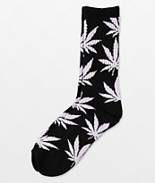HUF Plantlife calcetines negros & blancos