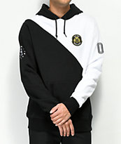 HUF WC Offside Black & White Hoodie