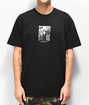 HUF x Real Crowd Black T-Shirt
