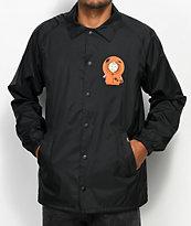 HUF x South Park Kenny chaqueta entrenador en negro