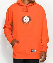 HUF x South Park Kenny sudadera naranja con capucha