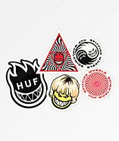 HUF x Spitfire Sticker Pack