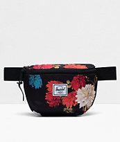 Herschel Supply Co. Fourteen Vintage Floral Black Fanny Pack