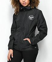 Herschel Supply Co. Voyage chaqueta negra cortavientos