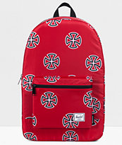 Herschel Supply Co. X Independent Packable Red Daypack