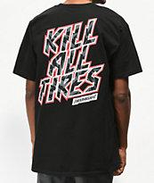 Hoonigan Gymkhana 10 Kill All Tires Black T-Shirt