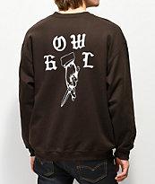 Howl Lucky Brown Crewneck Sweatshirt