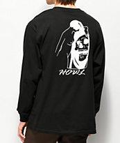 Howl Reap camiseta negra de manga larga