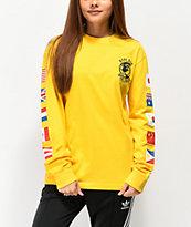 Hypland Worldwide Yellow Long Sleeve T-Shirt