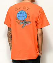Illegal Civilization Worldwide Biz Orange Pocket T-Shirt