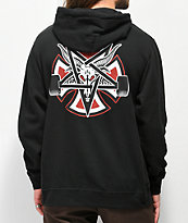 Independent x Thrasher Pentagram Black Hoodie