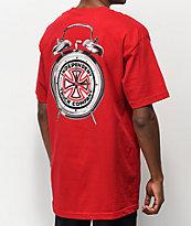 Independent x Thrasher Time To Go camiseta roja