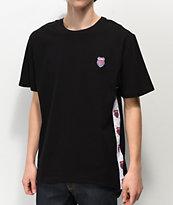 K-Swiss Badged Black T-Shirt