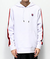 K-Swiss Taped White Hoodie
