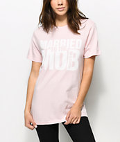 K-Swiss x MTTM Core Logo camiseta rosa polvorienta