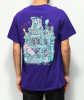 Killer Acid Spookhouse Purple T-Shirt