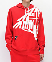 LRG Natural Roots Red Hoodie