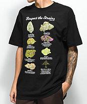 LRG Respect The Strains Black T-Shirt