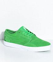 Lakai x Girl Griffin Green & White Skate Shoes