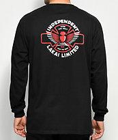 Lakai x Independent Black Long Sleeve T-Shirt