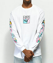 Lakai x Leon Karssen Box White Long Sleeve T-Shirt
