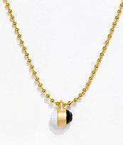 Lokai Gold Single Pendant Necklace