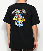 Loser Machine x PBR American Original Black T-Shirt
