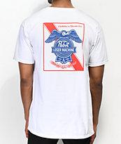 Loser Machine x PBR Condor & Ribbon camiseta blanca