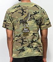 Loser Machine x PBR Guardian camiseta de camuflaje