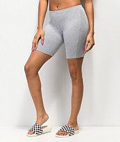 Lunachix Heather Grey Bike Shorts